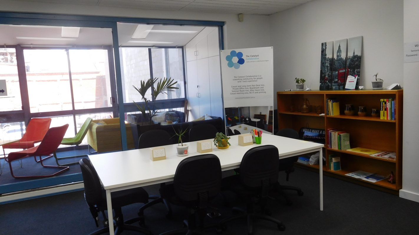 The Catalyst Collaborative Coworking South Australia Association